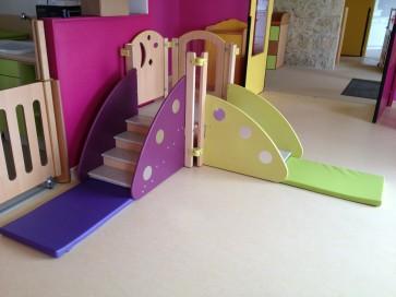 Tapis départ escalier