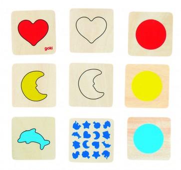 Mémo des formes et des couleurs