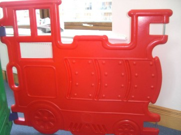 La locomotive rouge