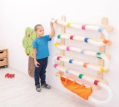 bienvenue sur le site les 3 ours jeu mural toboggan balles. Black Bedroom Furniture Sets. Home Design Ideas