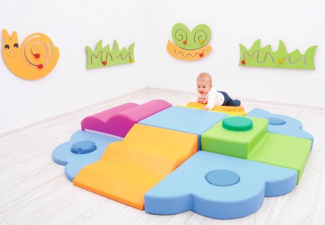 bienvenue sur le site les 3 ours kit de motricit l 39 le de la d couverte modules en mousse. Black Bedroom Furniture Sets. Home Design Ideas