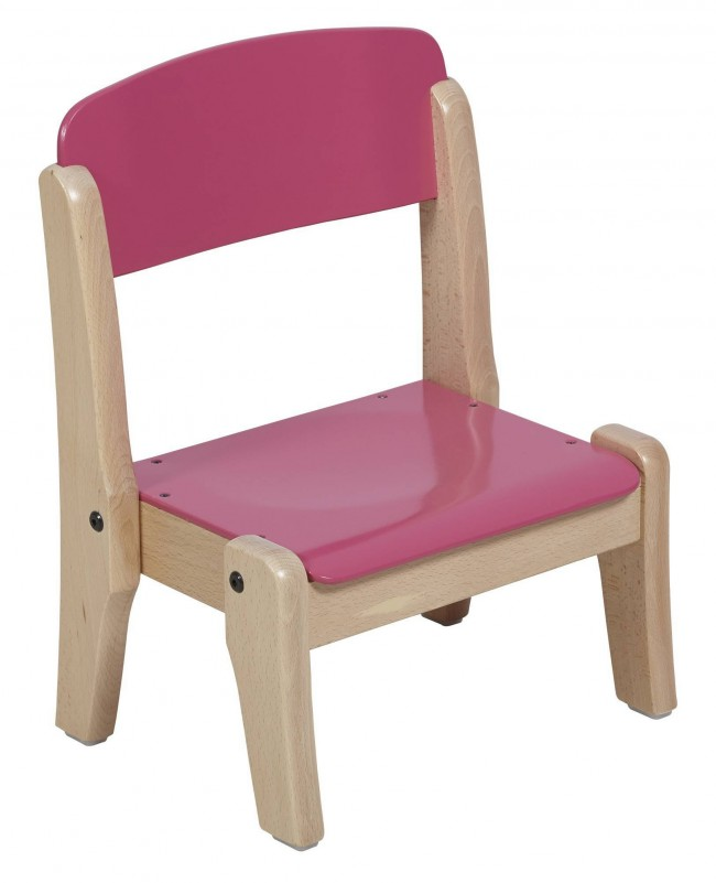 Chaise Empilable Bois Massif T0
