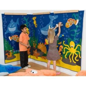 Tapis mural la Mer