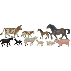 Les animaux de la ferme et leurs petits