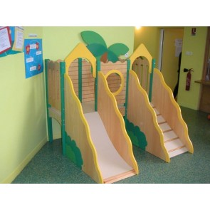 Le palmier avec escalier