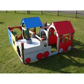 Le dédale train-camion 9 modules