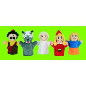 Marionnettes contes Les Trois Petis Cochons - Le Petit Chaperon rouge