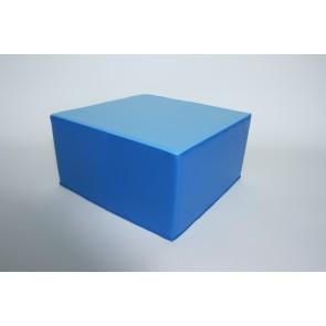 Pouf carré- Hauteur d'assise 25 cm