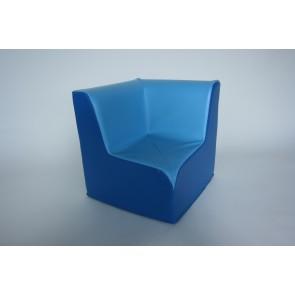 Chauffeuse d'angle 90° - Hauteur d'assise 32 cm