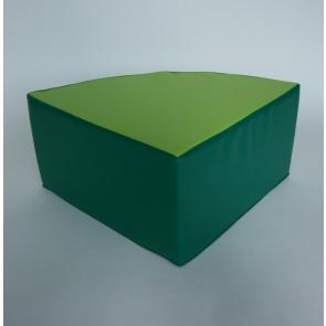 Pouf 1/4 de rond - Hauteur d'assise 32 cm