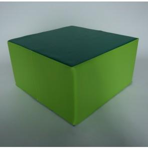 Pouf carré - Hauteur d'assise 32 cm