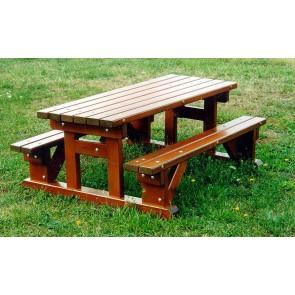 Table-bancs enfants - Sans dossier