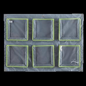 Range doudous mural  6 pochettes horizontales V/G - lot de 2
