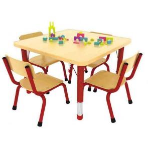Table carrée réglable