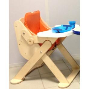 Chaise mi-haute compacte