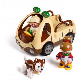 Camion safari TOLO avec personnage - Nouveau modèle
