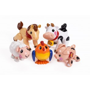 Les animaux de la ferme TOLO
