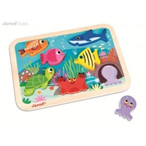 Puzzle 3D La mer