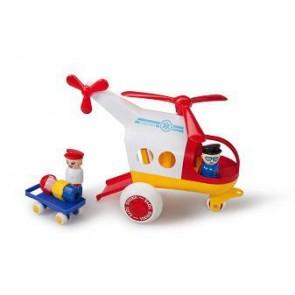 L'hélicoptère de secours
