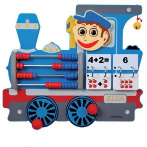 Jeu mural Le Train - La locomotive