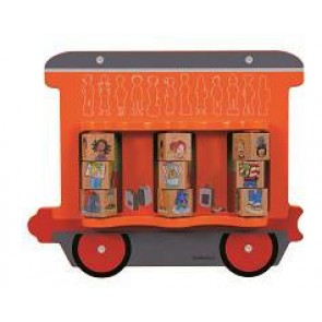 Jeu mural Le Train - Le wagon cube