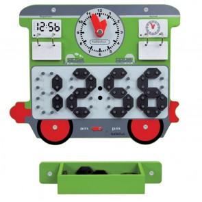 Jeu mural Le Train - Le wagon horloge