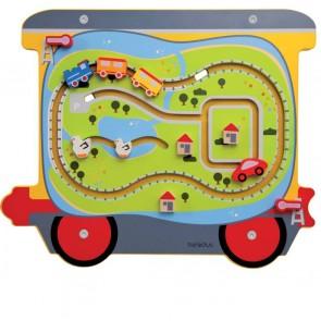 Jeu mural Le Train - Le wagon circuit
