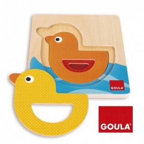 Puzzles gigognes superposables - Le canard