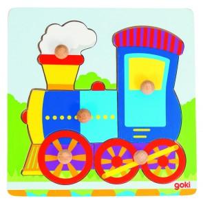 Encastrements 5 pièces - La locomotive