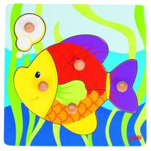 Encastrements 5 pièces - Le poisson