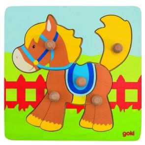 Encastrements 5 pièces - Le cheval