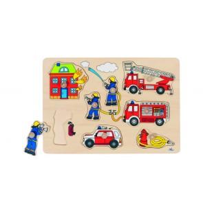 Encastrement 6 pièces  Les Pompiers