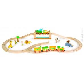 Circuit train Safari  33 pièces