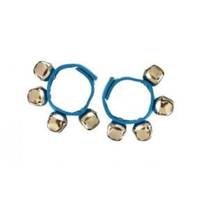 Bracelets grelots bleus