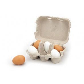 Les œufs et la boîte