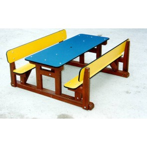 Table-banc enfant HPL
