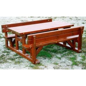 Table-bancs enfants - Avec dossier