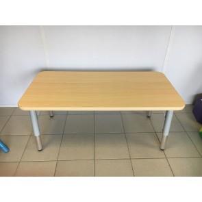Table rectangulaire réglable