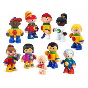 Mes 1ers amis TOLO : assortiment de 10 personnages - DLSD
