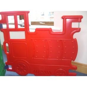 La locomotive rouge