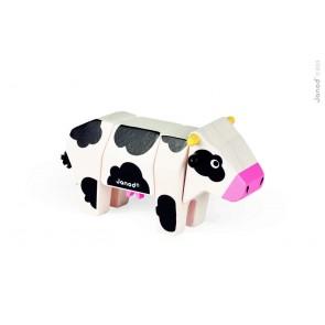 Animaux à emboîter - La vache