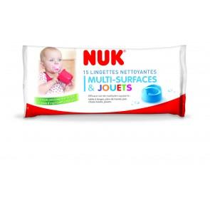 Lingettes désinfectantes multi-surfaces et jouets Nuk small-image