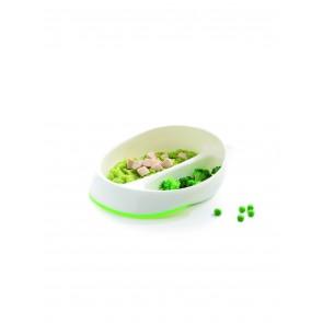 Assiette ergonomique à compartiment small-image