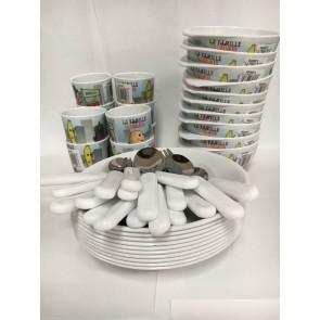 Assortiment vaisselle Frugumes - spécial micro crèche image