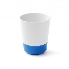 Gobelet mélamine antidérapante bleu small-image
