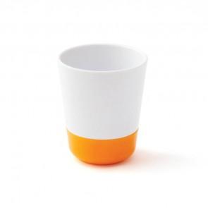 Gobelet mélamine antidérapante orange small-image