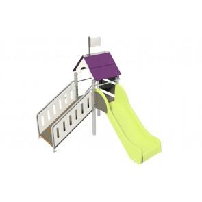 Fripounette baby-grimpe poly G/P pieds métal longs small-image