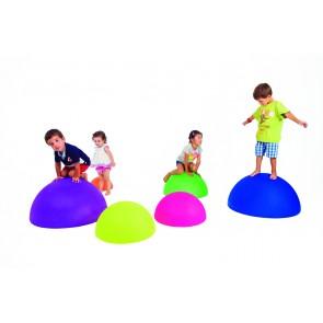 Maxi dômes d'équilibre - Assortiment de 4 sphères