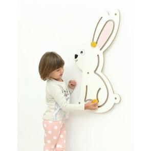 Décor à manipuler le lapin