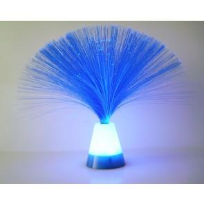 Assortiment de 4 mini lampes fibre optique